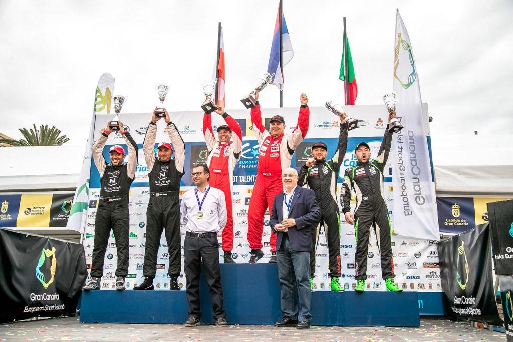 Россияне выиграли второй этап чемпионата Европы по ралли
