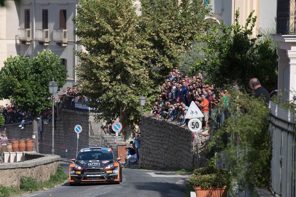 Rally di Roma Capitale: нервный и неровный день