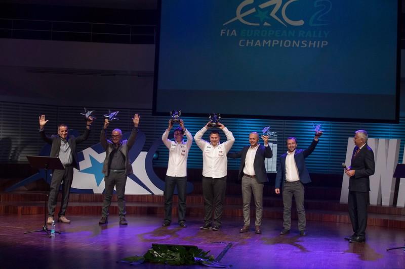FIA European Rally Championship season is over