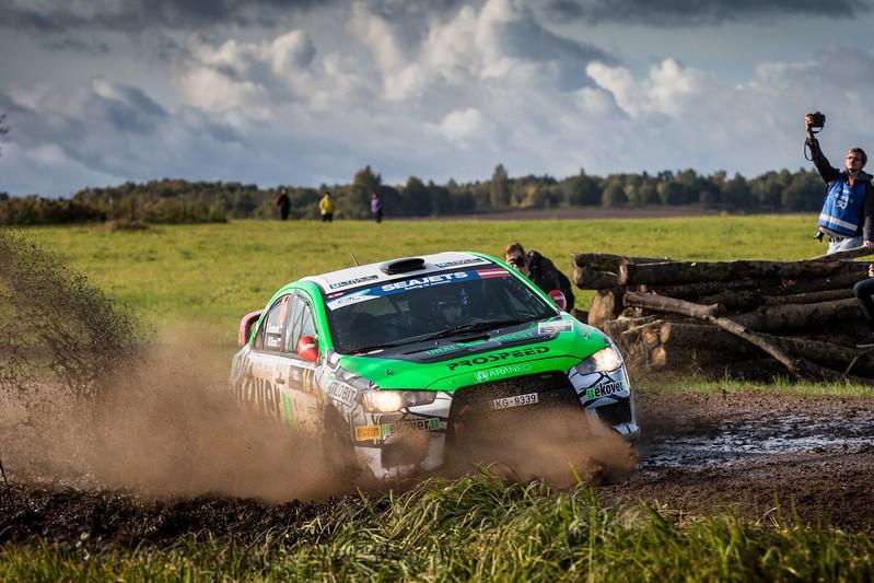 Rally Liepāja: «черная гонка»