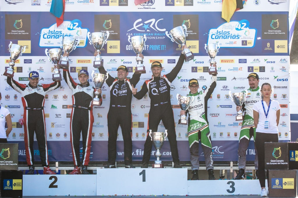 Rally Islas Canarias: Victory in Spain