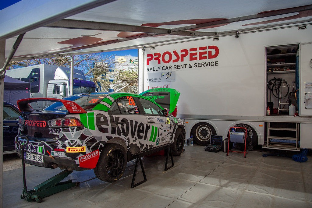 FIA European Rally Championship second round: push hard on asphalt