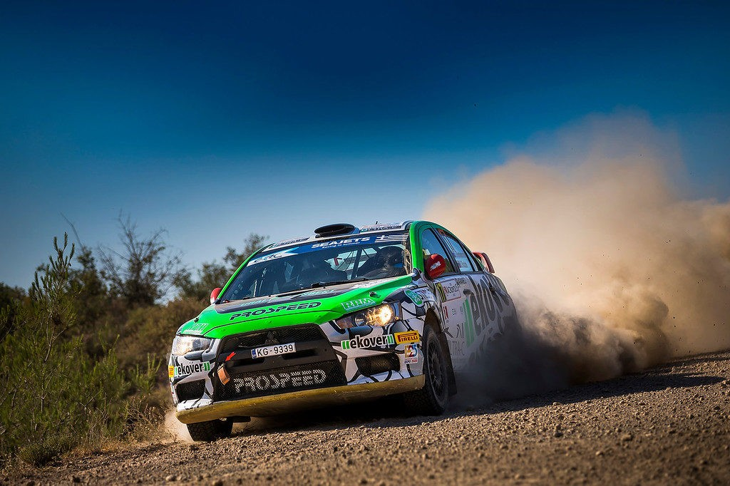 Acropolis Rally: Russians lead in speed and points