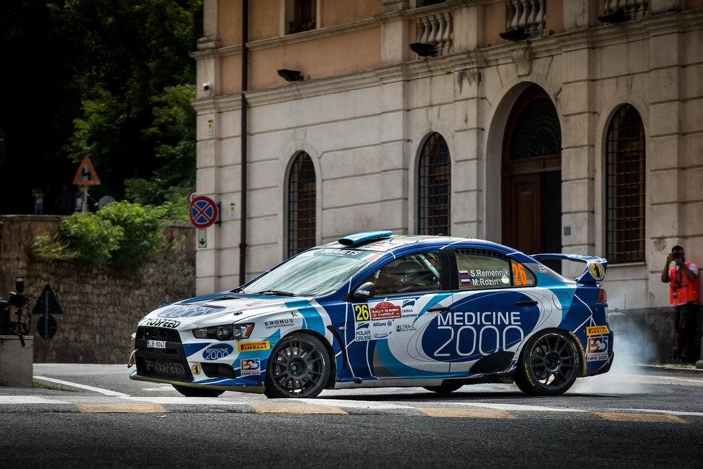 Алексей Лукьянюк - самый быстрый на Rally di Roma Capitale после первого дня
