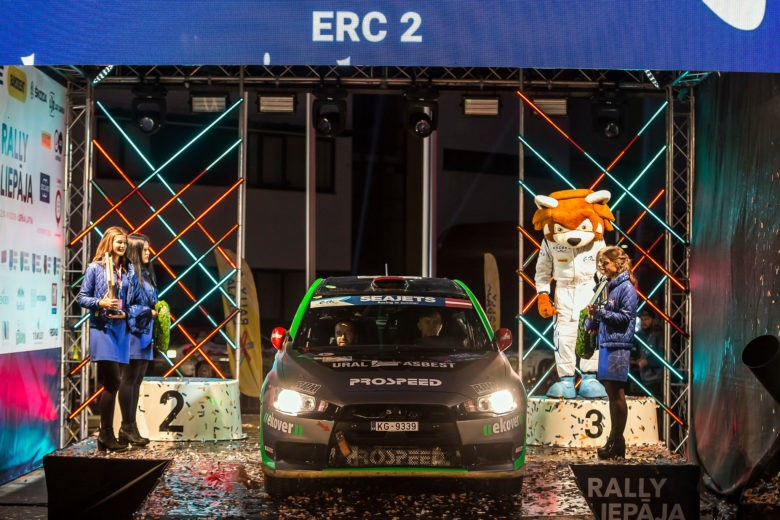 FIA ERC: final competition at Baltic seaside