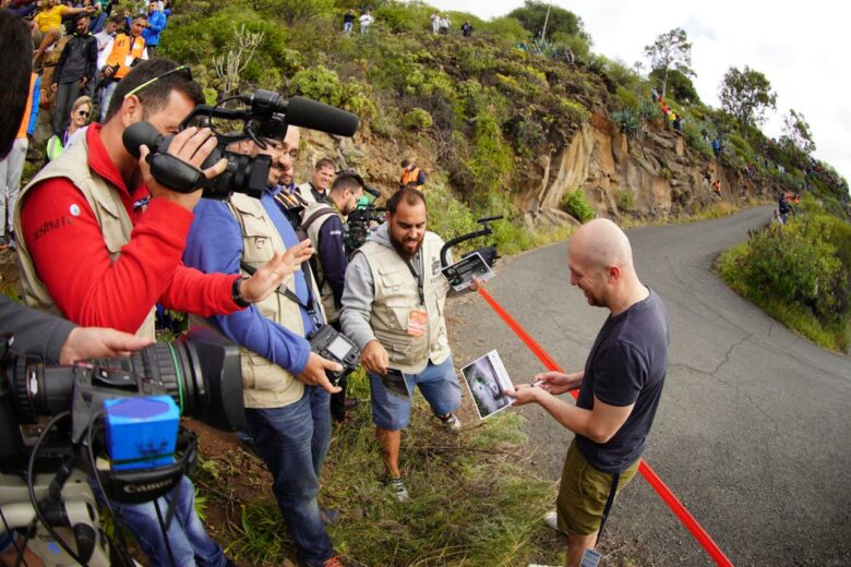 What happened at the Rally Islas Canarias?