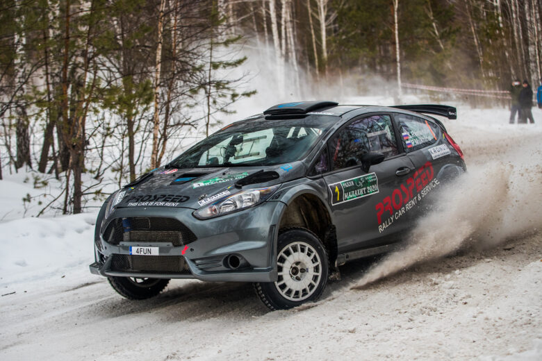 2020 Malakhit Rally: Sergei Remennik is second in overall standings