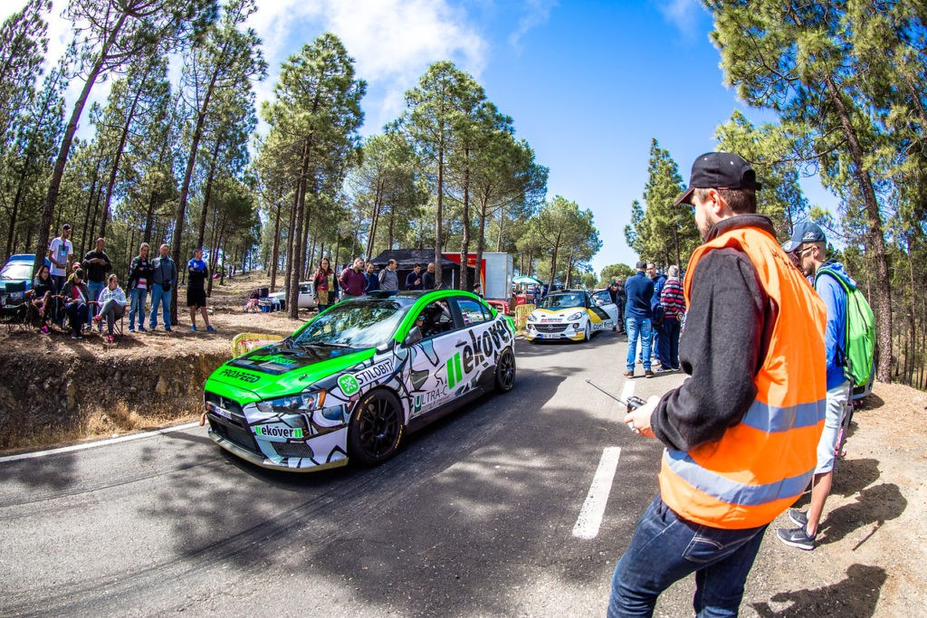 Russian team in the European Rally Championship