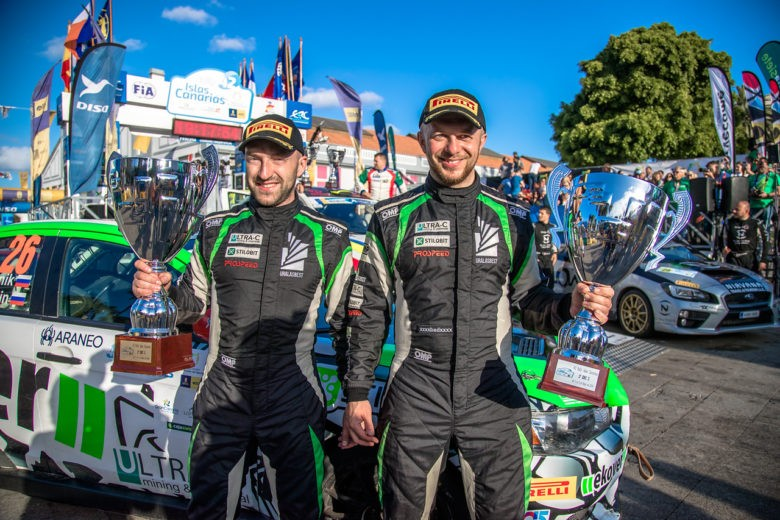 Rally Islas Canarias: Victory in Spain