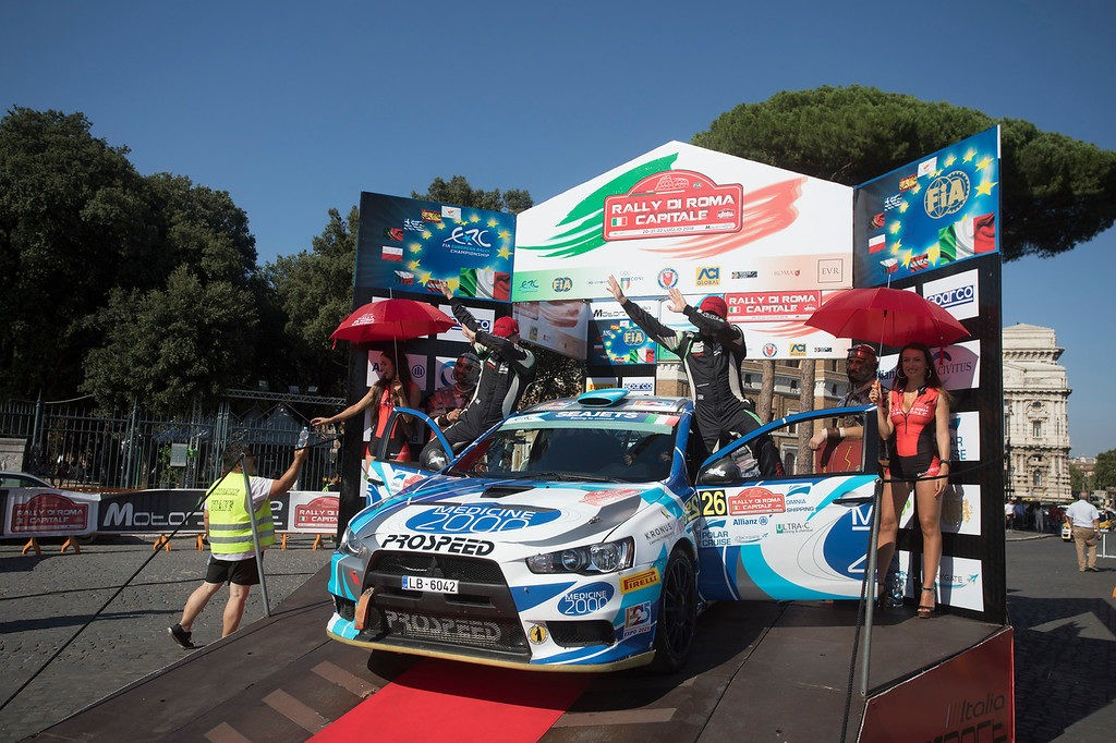 The adventures of Russians in Italy began: the RPM team crews start at the fifth FIA ERC round