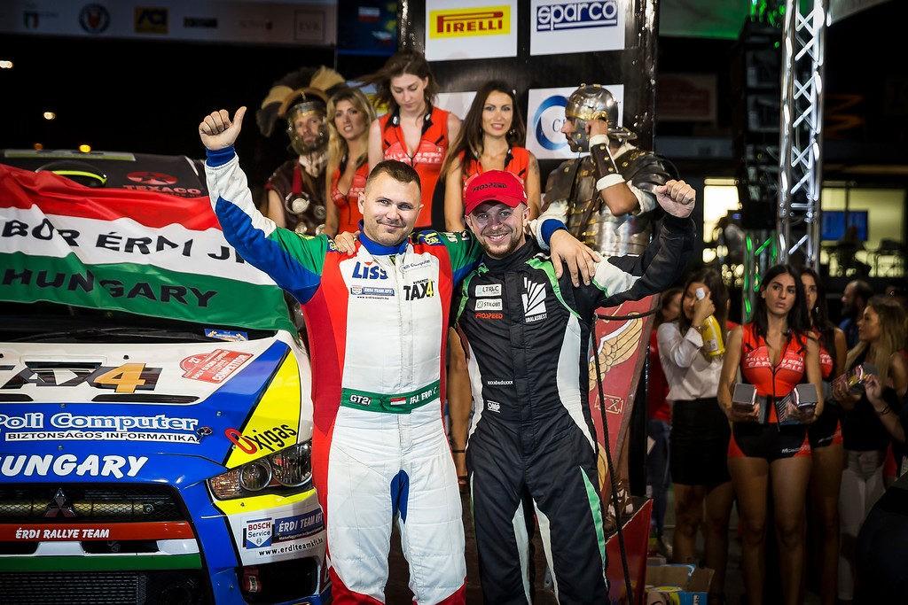 Russian Performance Motorsport – победители и призеры пятого этапа ERC!