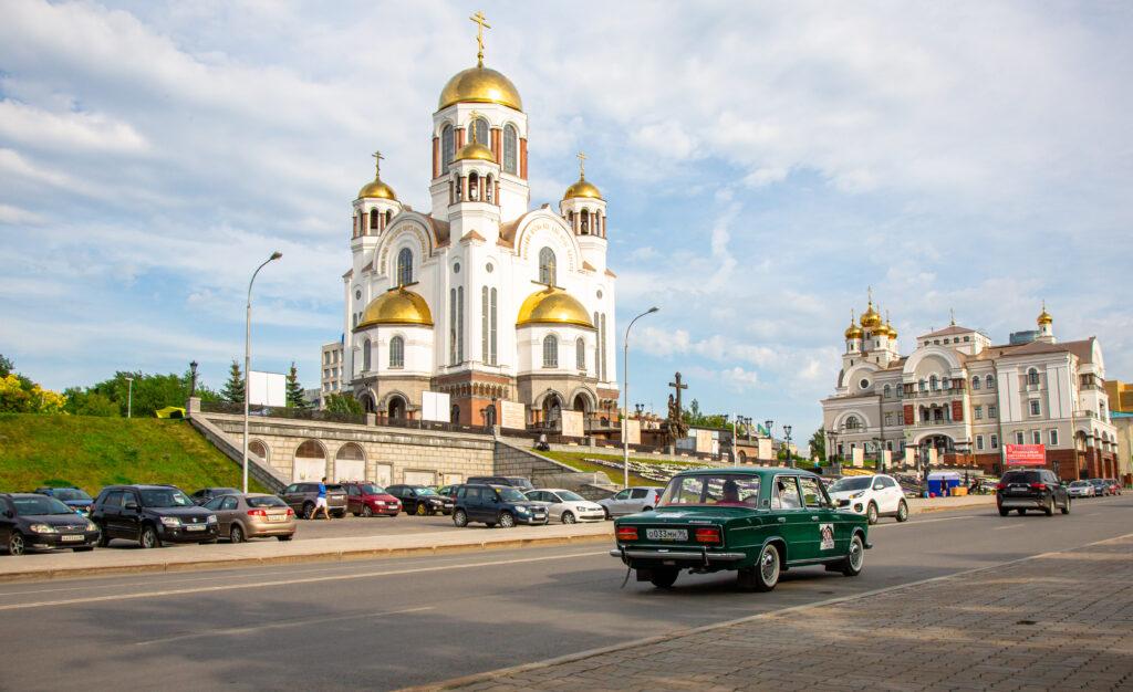 Ретро-ралли «Урал»: как 20 лет назад