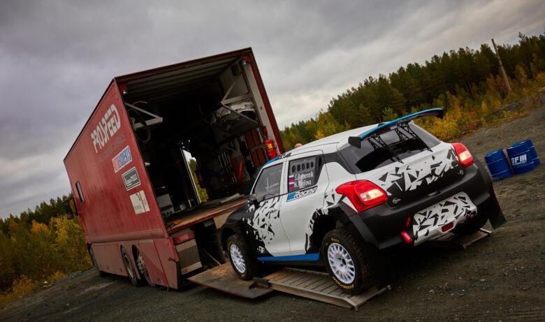 Премьера автомобиля Oreca Suzuki Swift R4: Дмитрий Мячин и Алексей Лукьянюк протестируют кит-кар на ралли «Ураласбест-2020»